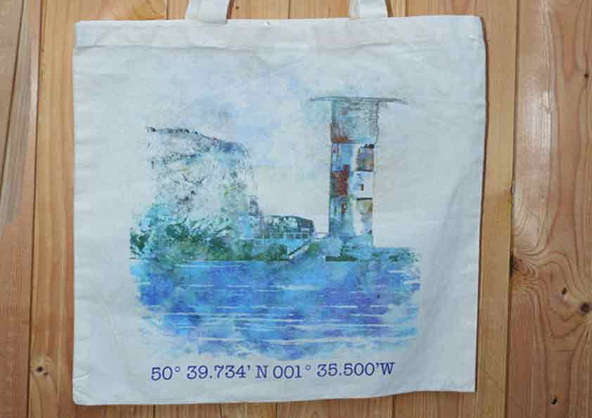 Needles Lighthouse tote