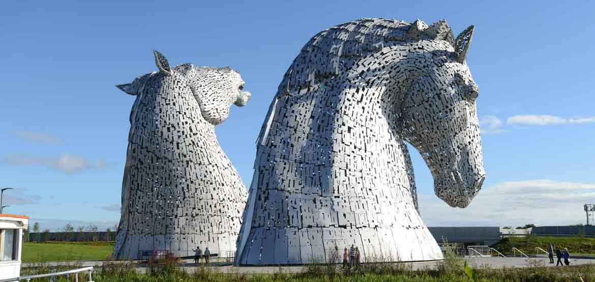 Kelpies Grangemouth