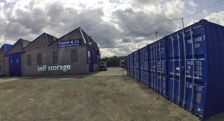 Self Storage facilities for domestic household and Business in