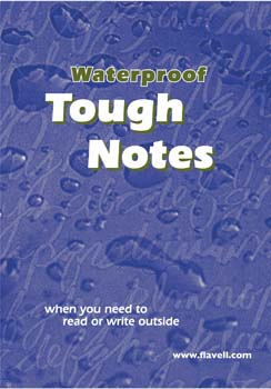 waterproof paper notebook