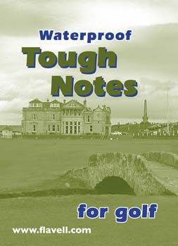 Flavell Waterproof Golf Notes