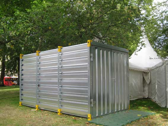 event demountable container