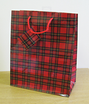 Scottish And Tartan Gift Bags And Wrap