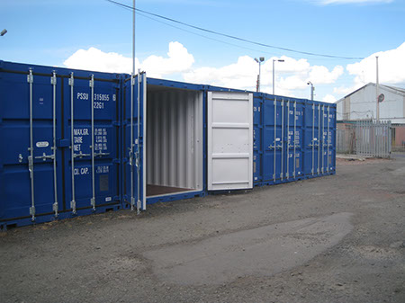 self storage containers business or personal